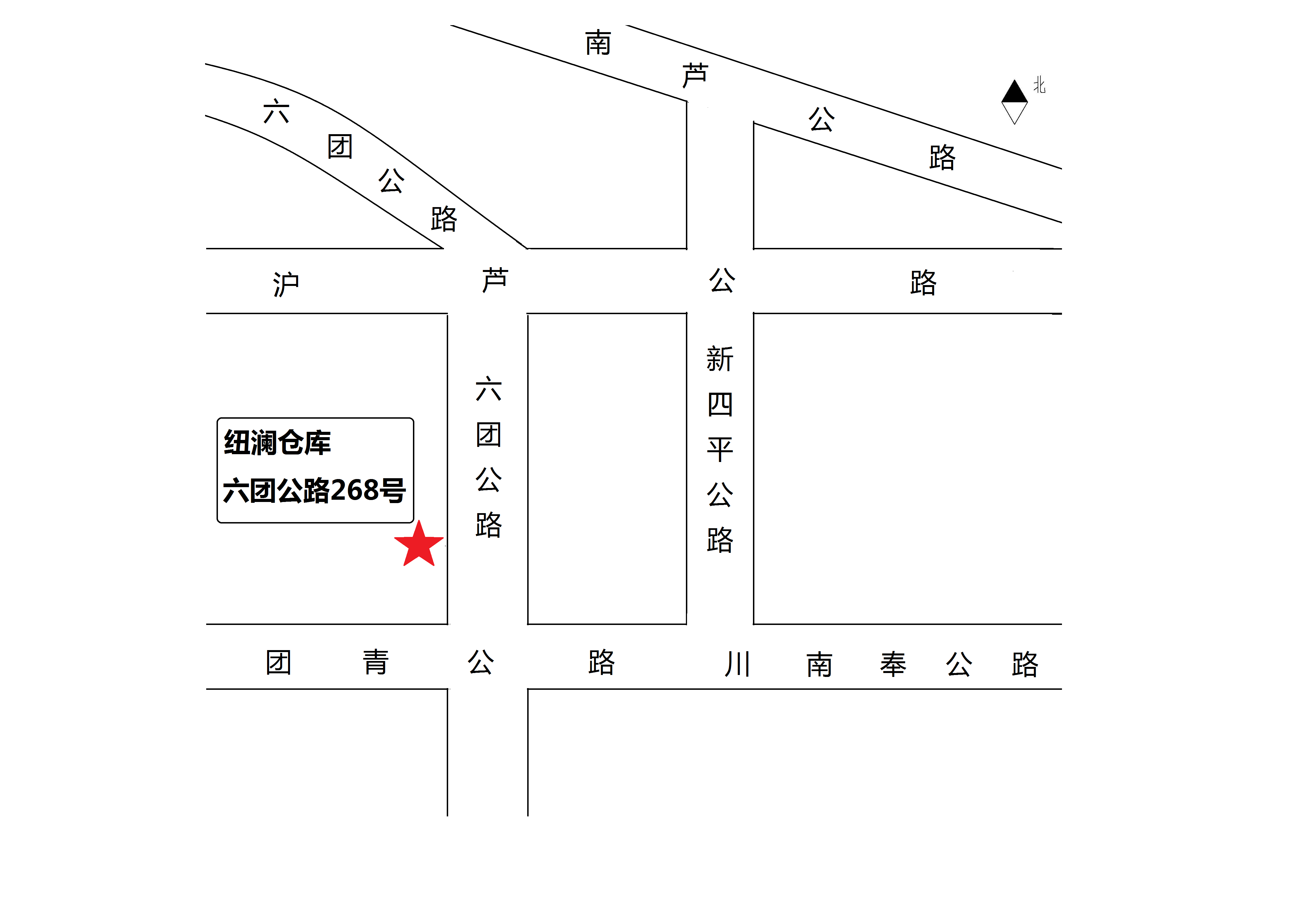 上海奉贤四团镇地图
